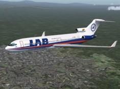 Сравнительный анализ развития авиаперевозок двух внутриконтинентальных южноамериканских стран