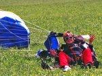 С парашютом на фестиваль