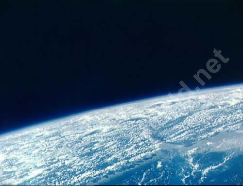 Вид на дельту амазонки из космоса