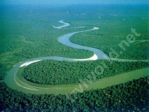 Амазонка с высоты птичьего полета