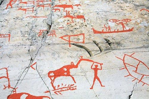 Творчество древних за северным
