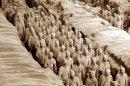 Захоронение глиняного войска